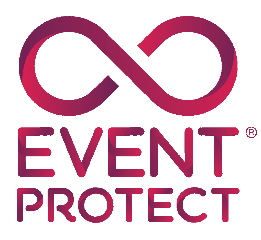 Purple Event Protect logo